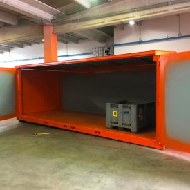 Container a noleggio per stoccaggio rifiuti speciali pericolosi e non